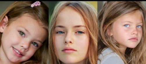 Laneyam Kristina e Thylane ficaram famosas ainda crianças (Foto: Reprodução)
