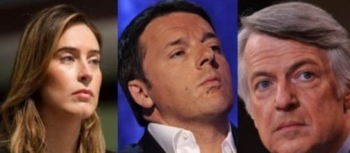 Matteo Renzi scende in campo per difendere Maria Elena Boschi dalle accuse di Ferruccio De Bortoli