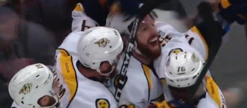 Neil after scoring the winning goal, NHL Youtube channel https://www.youtube.com/watch?v=4ZrRjGD914Q