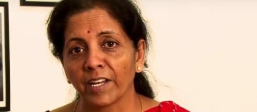 Nirmala Sitharaman, ministra dell'Industria e del commercio dell'India