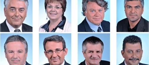 """Quelques-uns et unes des députées et députés de l'actuel groupe des """"non-inscrits"""" à l'Assemblée nationale"""
