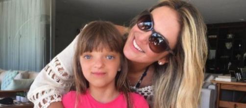 Rafaella Justus, filha de Ticiane Pinheiro e Roberto Justus, é portadora de estenose cranio-facial. (Foto reprodução/Instagram)