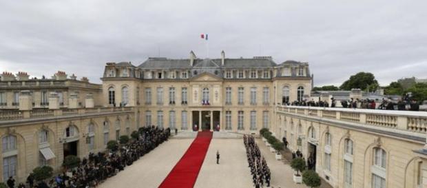 L'Eliseo, sede del Presidente della Repubblica francese