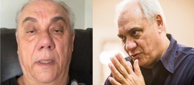 Marcelo Rezende está internado há dias