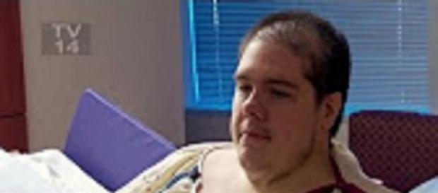 """""""My 600-lb Life"""" Steven Assanti shocked into weight loss. Source: Youtube TLC"""