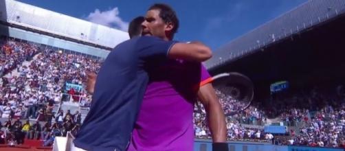 Djokovic congratulates Nadal, Youtube, Tennis TV channel https://www.youtube.com/watch?v=gvYJe2Fc3GY