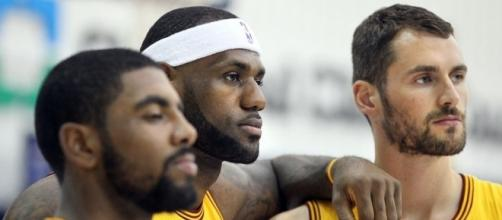 Lebron James, Kyrie Irving, and Kevin Love - (Image credit: cleveland.com)