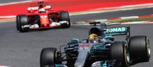 Lewis Hamilton found the winning formula in Barcelona. (Source: autoweek.com - found in Blasting News library)