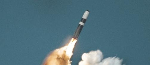 Trident Ballistic Missile Launch/Photo via U.S. Department of Defence
