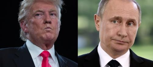 Trump USA Putin Russia alleged links / Photo sourced via Blasting News Library