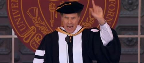 Will Ferrell hilarious speech at USC targets Trump| Image - tmz.com