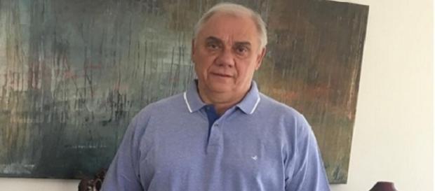 Apresentador Marcelo Rezende diz ter muita fé em Deus e que vencerá a luta contra o câncer