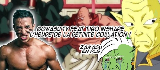 Gowasu TV feat Tibo InShape, l'heure de la petiiite collation !