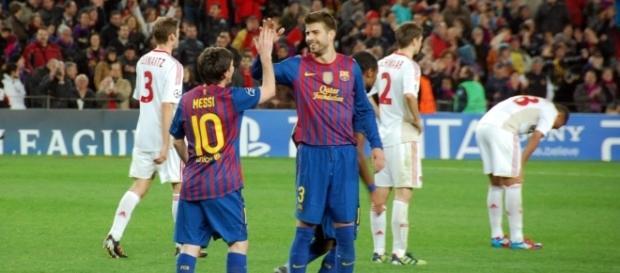 O Barcelona procura manter a liderança da Liga Espanhola.