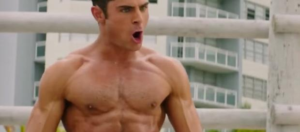 Zac Efron screen grab from BN library
