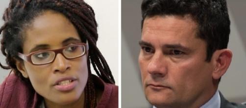 Djamila dá lição de moral no juiz Sérgio Moro
