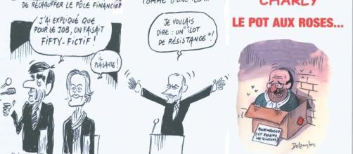 """Le Pot aux roses, qui revisite la campagne présidentielle, est le quatorzième essai politique de Charles """"Charly"""" Duchêne"""