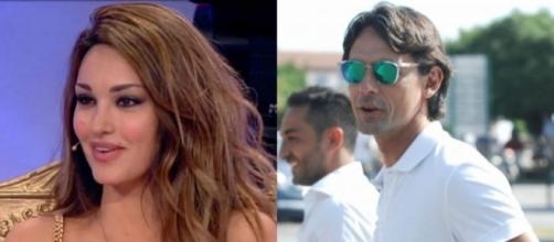 Pippo Inzaghi ha scritto un messaggio su direct a Rosa Perrotta