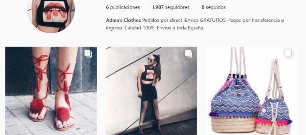 Adara Clothes, la tienda de Adara.