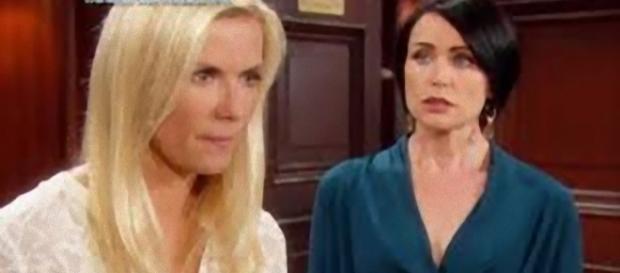 Beautiful: Quinn cerca di convincere Brooke.