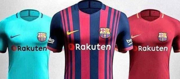 Filtrado: Imagen de la nueva camiseta del FC Barcelona 2017-2018 ... - thebestfutbol.com
