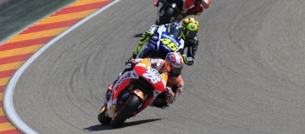 Pedrosa domina el Gran Premio de España.