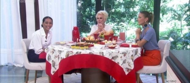 Taís se recusou a comer o nhoque de Ana Maria Braga, porque continha abóbora. Ana Maria Braga reagiu diante da 'desfeita'