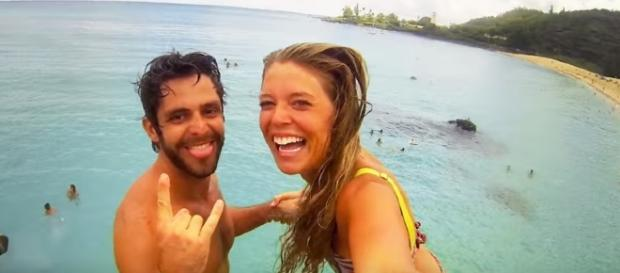 Thomas Rhett and wife Lauren-Image by Thomas Rhett Vevo/YouTube