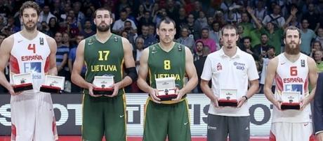 Eurobasket All-Team (Foto: Euroleague)