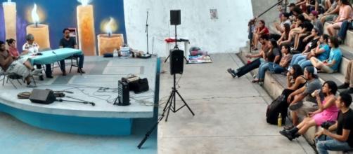 """El festival invita a """"pintar, dialogar y recuperar la memoria colectiva"""".Foto: Karla Garza"""