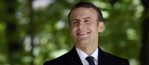 Emmanuel Macron soutient Paris 2024