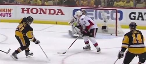 Kessel scored a lucky goal, NHL Youtube channel https://www.youtube.com/watch?v=OiPH7qk-qMs