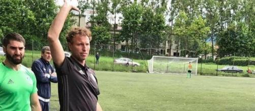 L'allenatore italiano Cammarata che tanto bene sta facendo nel campionato russo Under 17