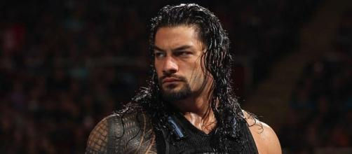 Roman Reigns will be featured in a Fatal Fiveway match at WWE 'Extreme Rules' 2017 PPV. [Image via Blasting News image library/givemesport.com]