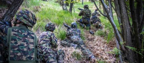 Una fase dell'edizione 2016 della competizione per pattuglie militari (Foto Italian Raid Commando - Unuci)