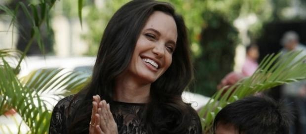 Angelina Jolie spent her quality time with son Pax over a Mother's day dinner. Photo via - eonline.com