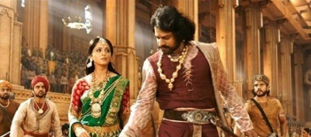 Anushka and Prabhas from 'Baahubali: The Conclusion'