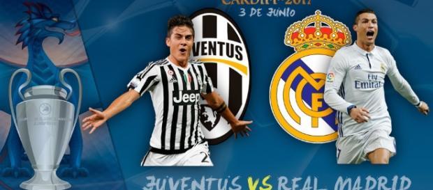 Juventus-Real Madrid una final de lujo en la Liga de Clubes.