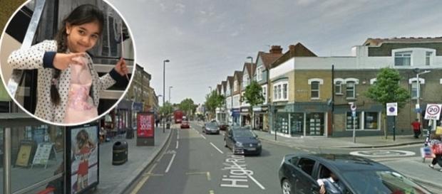 """Leyton High Road, strada din Londra de unde Beatrice Felicia a fost """"răpită"""" cu tot cu mașina tatălui său"""