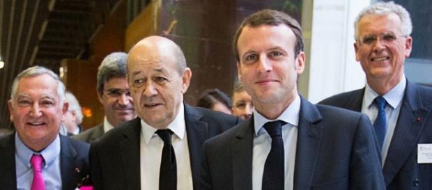 Macron à l'école Polytechnique - CC BY