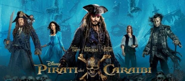 La locandina del nuovo capitolo della saga dei Pirati dei Caraibi: il film sarebbe nel mirino degli hacker