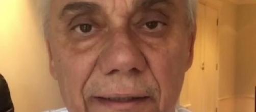 'Decidi fazer um retiro espiritual, só eu e Deus', diz Marcelo Rezende em vídeo do Instagram