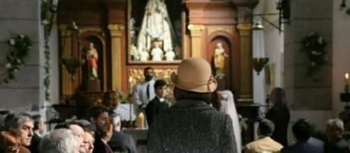 Il Segreto, anticipazioni spagnole: Beatriz invade le nozze di Matias e Marcela