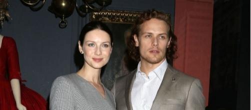 Outlander' Stars Sam Heughan And Caitriona Balfe Tease Jamie And ... - inquisitr.com