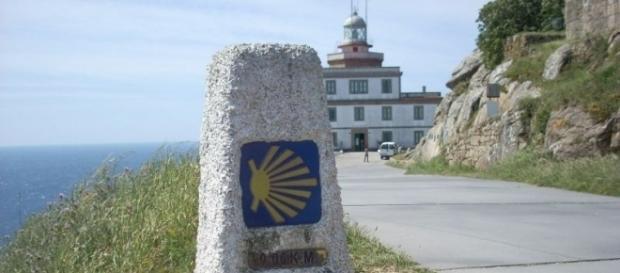 Cabo Fisterra, l'arrivo sull'Oceano Atlantico.