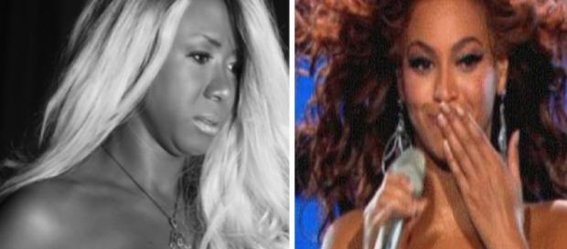 Ex-BBB Adélia tenta ser a Beyoncé, mas resultado é discutível (Foto: Google)