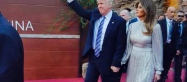G7: la first lady americana Melania Trump.