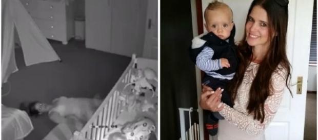 Homem se assusta com demora da mulher em quarto de bebê