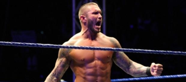 Randy Orton was in action on the latest episode of 'SmackDown Live.' [Image via Blasting News image library/mirror.co.uk]