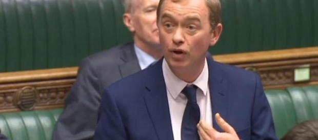 Tim Farron is a hypocrite if he can accept one referendum result, but not the other
